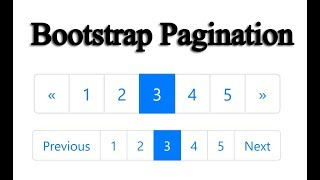 Pagination In Bootstrap Video in MP4,HD MP4,FULL HD Mp4