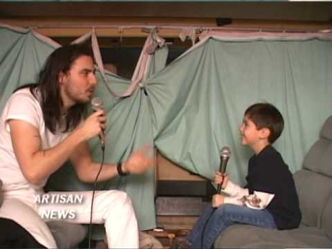 ANDREW W.K. INTERVIEW BY WORLD'S YOUNGEST REPORTER - PART 1