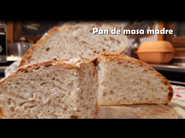 Pan De Masa Madre Cómo Hacer Pan Sin Levadura Con Thermomix Ii Sourdough Youtube