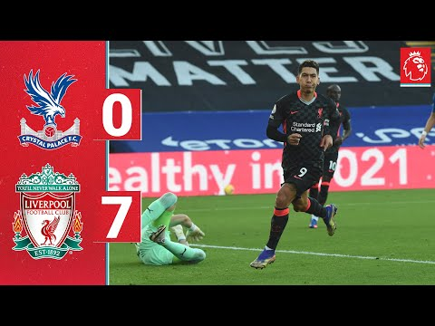 Crystal Palace Liverpool Goals And Highlights