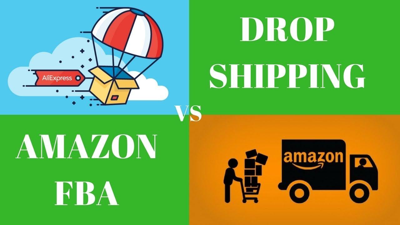 Bildergebnis für AMAZON FBA VS dROPSHIPPING