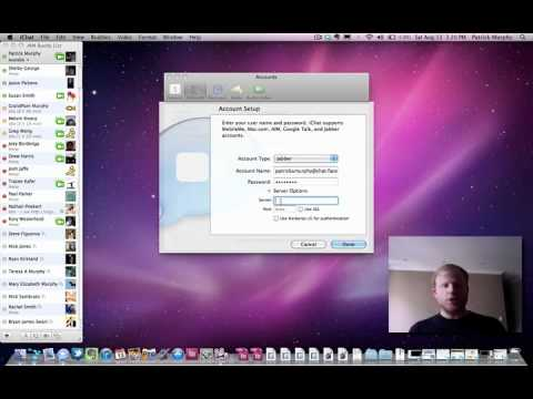 Facebook Messaging in iChat