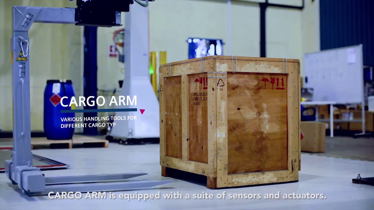 SPEEDCARGO - world's first robotics solution for build-up and break down of air cargo pallets.