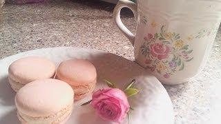 How To Make Pink Macarons Using Italian Meringue