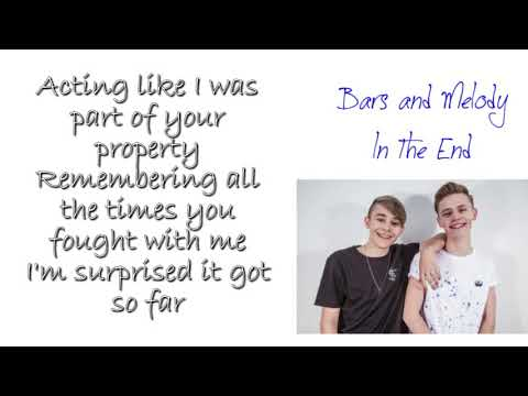 Bars and Melody - In The End LYRICS (Linkin Park)