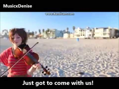 Come With Us - Lindsey Stirling & Can't Stop Won't Stop Lyrics