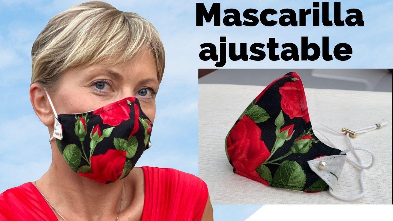 MASCARILLA AJUSTABLE EN LA CABEZA Y LA NUCA | ADJUSTABLE MASK ON THE HEAD AND NECK