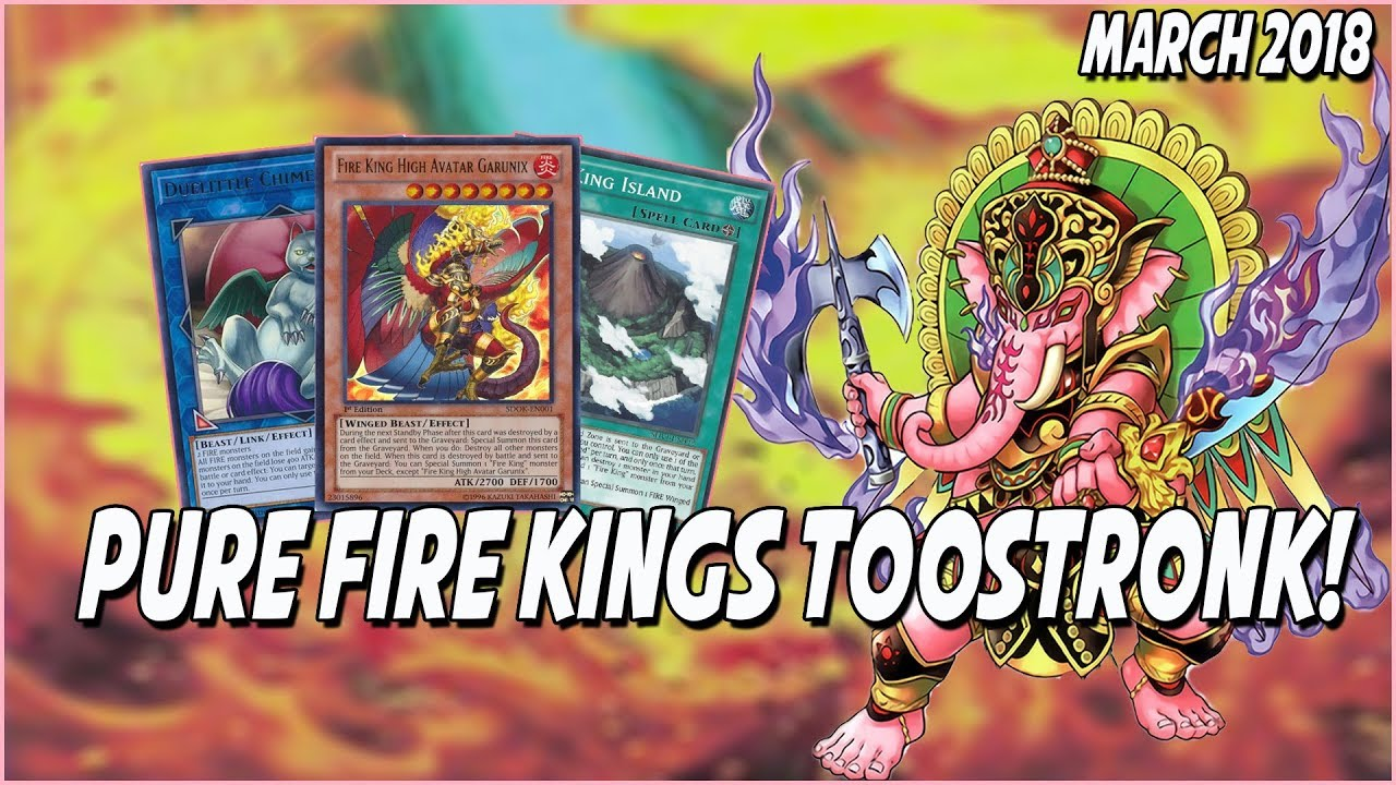 YUGIOH! *EPIC* FIRE KING DECK PROFILE!!! |DESTROY THE BOARD EVERY TURN!!|