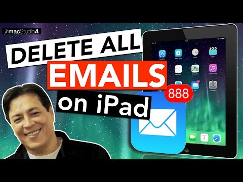 How To Delete All Inbox Messages on iPad