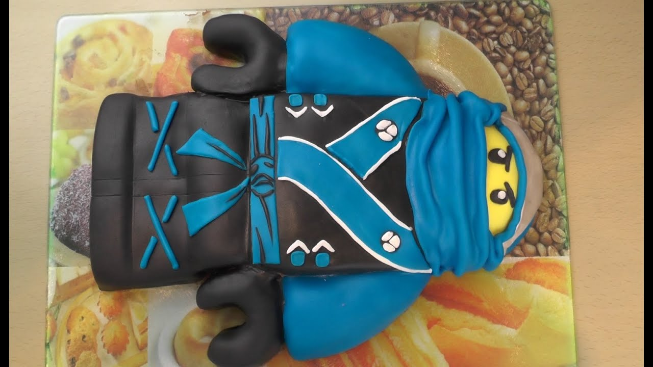 Lego ninjago torte freaky baking ninnin youtube for Decorazioni torte ninjago