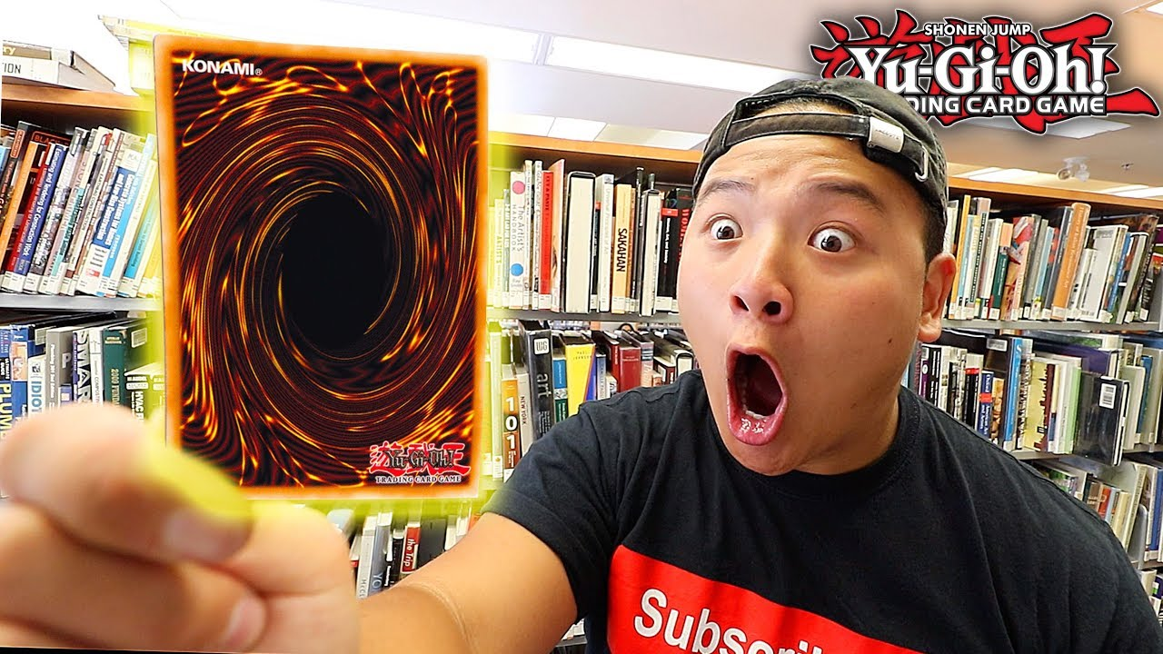 Download I PULLED ONE OF THE RAREST YU-GI-OH! CARDS IN THE LIBRARY!