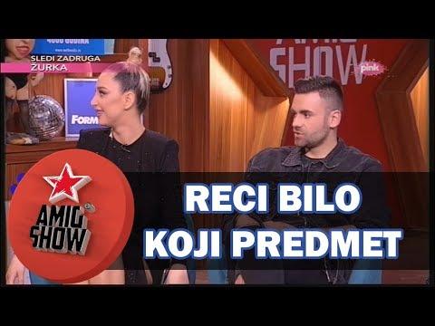 Reci Bilo Koji Predmet - Ami G Show S10 - E36