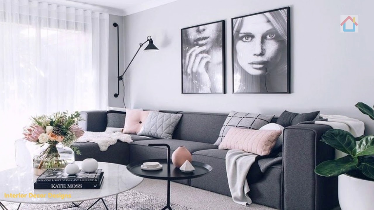 Beautiful Grey Living Room Ideas For Gorgeous And Elegant Home Interior Youtube