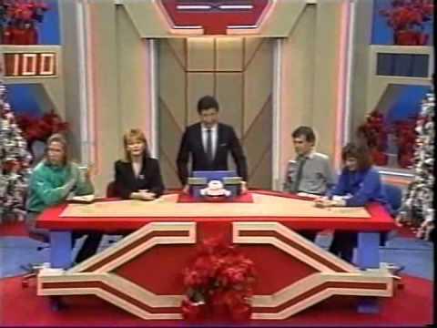 Super Password NBC Daytime Christmas 1988 Bert Convy