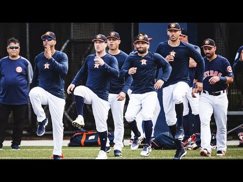 The Houston Astros INFIELD is Back Together! | MLB Spring Training 2019 Ep. 4