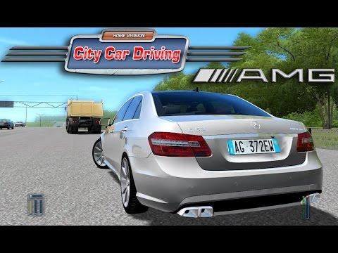 City Car Driving - Mercedes E63 AMG: Partenaire GamesPlanet : https://fr.gamesplanet.com/?ref=WallStark  Salut tout le monde, une petite balade aujourd'hui au volant de la Mercedes E63 AMG !  N'hésitez pas à donner vos avis, impressions ou questions en bas de cette vidéo et de vous abonnez sans modération ! ;).  Un grand MERCI à vous pour le soutien.   Pour me suivre :  Facebook :  https://www.facebook.com/WallStark  Twitter :  https://twitter.com/WallStark  Twitch live :  http://www.twitch.tv/wallstark  Config : Thrustmaster T300RS + TH8A + T3PA PRO + Ferrari F1 Wheel Add-On I7 4770K - 4.6Ghz 4X4Gb Gskill 2400Mhz - 16GB EVGA GTX 980Ti Hybrid - 6 GB Watercooling Corsair 750W Asus Maximus VI Z87 SSD Samsung EVO 120Gb Playseat Evo Alcantara 3 X 27