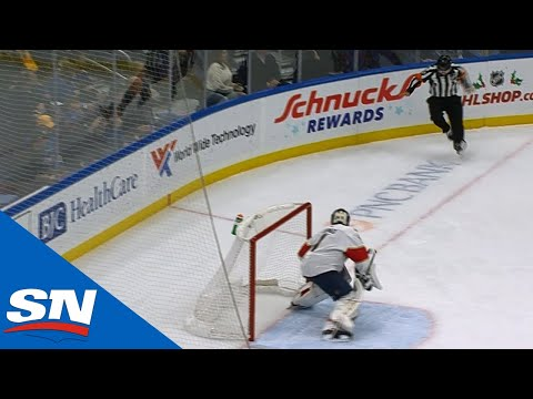 St. Louis Blues Goal Called Back For Deflecting Off Referee Tim Peel's Mid-Section