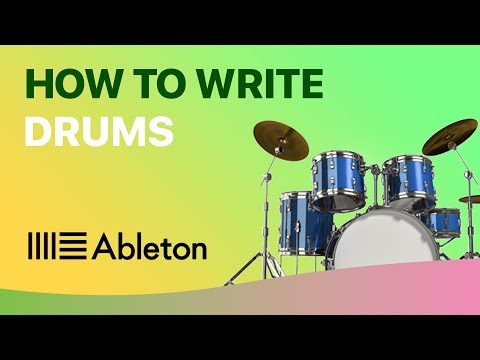 How To WRITE DRUMS in Ableton Live (Beginner's Guide)