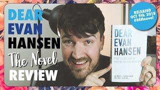 Dear Evan Hansen - The Novel REVIEW #DEHnovel 👕