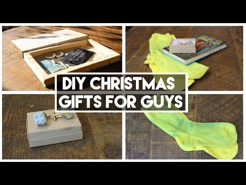 DIY Christmas Gifts for Guys - The best in town!