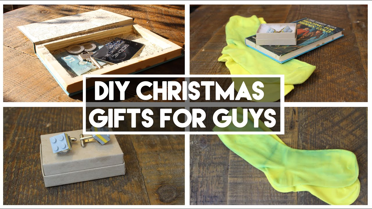 Diy Christmas Gifts For Guys The Best In Town Youtube