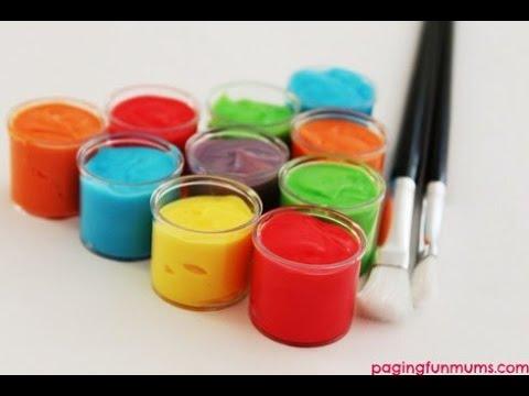 краски картинка для детей