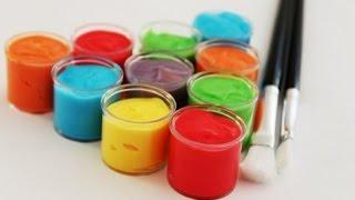Смешиваем цвета. Учим цвета. Смешиваем краски. Развивающий мультик для детей