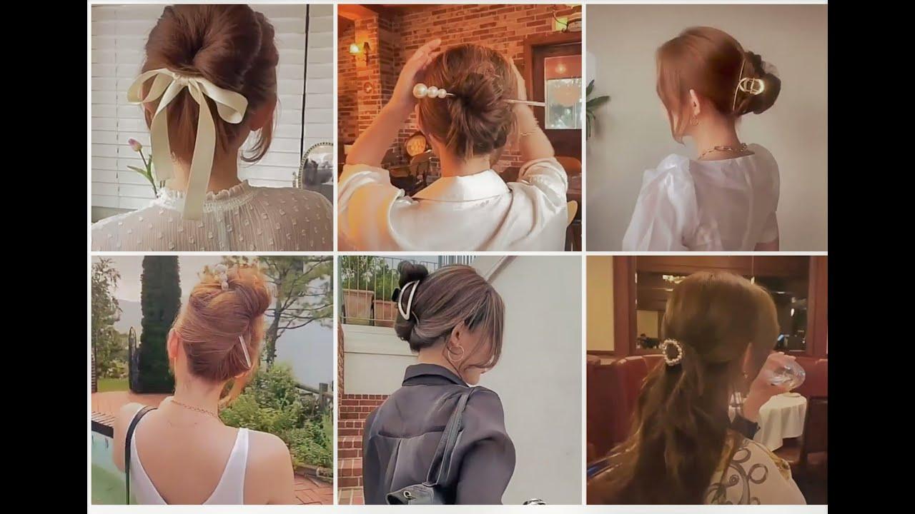 Cách búi tóc cực xinh cho phái đẹp   Hair style   Khái quát các nội dung liên quan đến cách xõa tóc đẹp đầy đủ