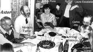 Cumpleaños nº 60 de Astor, en París, en 1981