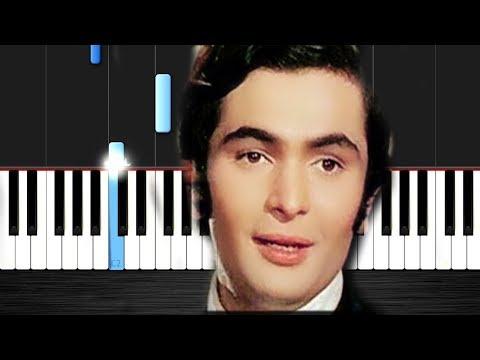 Main Shayar To Nahin - Bobby - Rishi Kapoor, Dimple Kapadia & Aruna Irani - Piano Tutorial VN