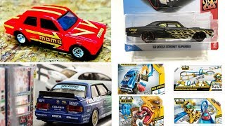 Hot Wheels Datsun Bluebird 510, Tarmac Works new release and ZURU Metal Machines Playset