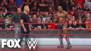 Cain Velasquez & Rey Mysterio get the best of Shelton Benjamin & Paul Heyman | MONDAY NIGHT RAW