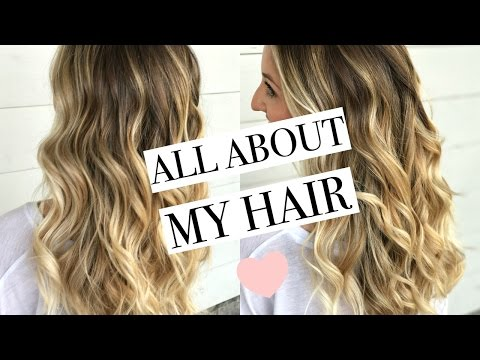 ALL ABOUT MY HAIR   Come to the Salon With Me   Blonde Balayage