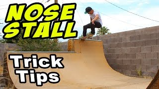 Tutorial: NOSESTALL A RAMP (How To)