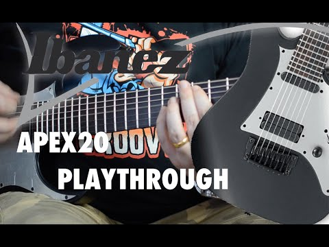 Ibanez Guitar Ibanez Apex200 7 string playthrough