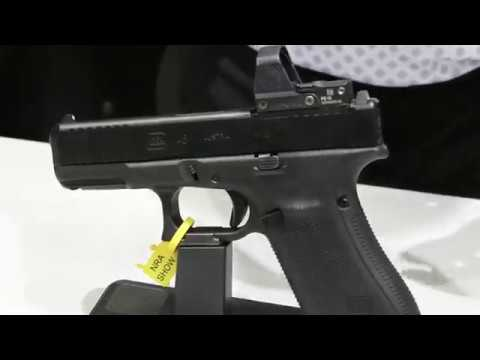 Shane Coley shows off the Glock 45 MOS