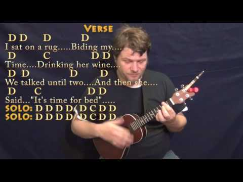 Norwegian Wood (The Beatles) Ukulele Cover Lesson in D with Chords/Lyrics