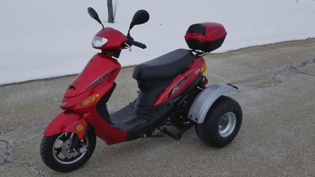 50cc Revolution Trike Scooter For Sale From SaferWholesale com