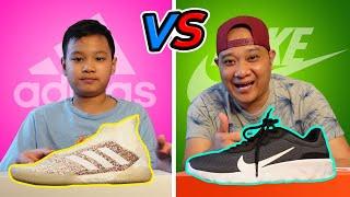 รองเท้าแพง vs รองเท้าถูก