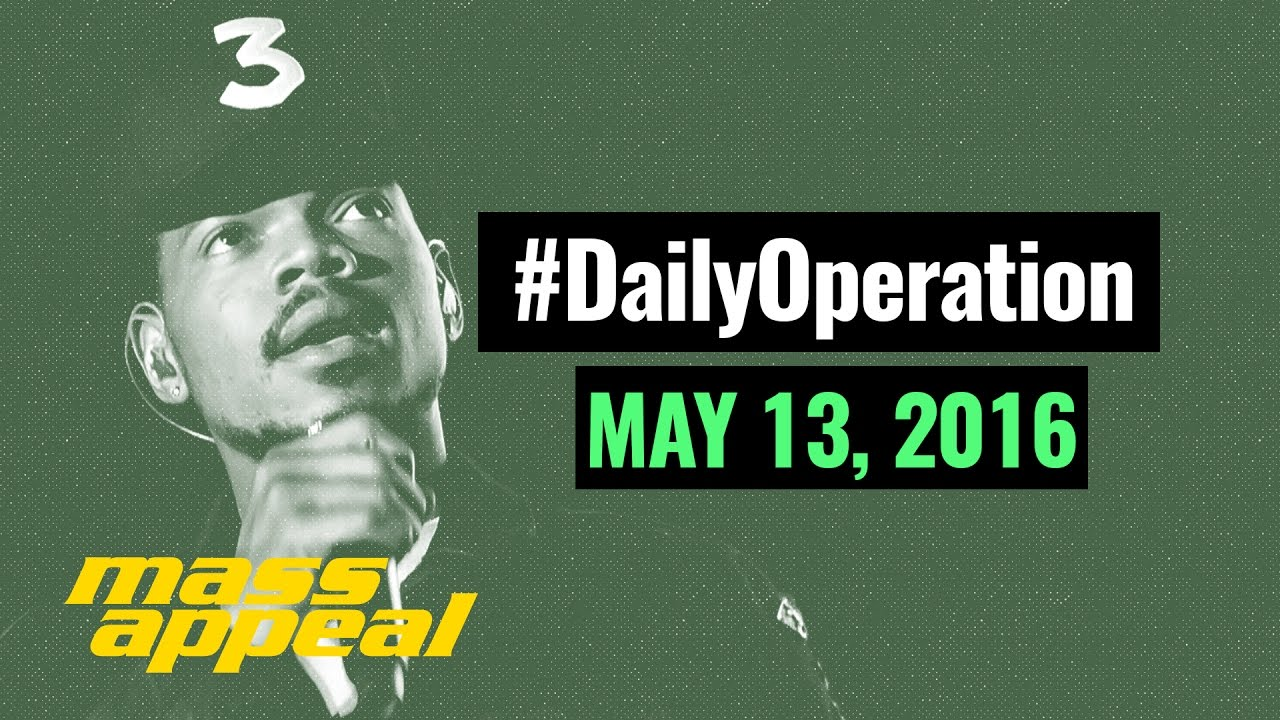 Daily Operation Chance The Rapper Releases Coloring Book May 13 2016
