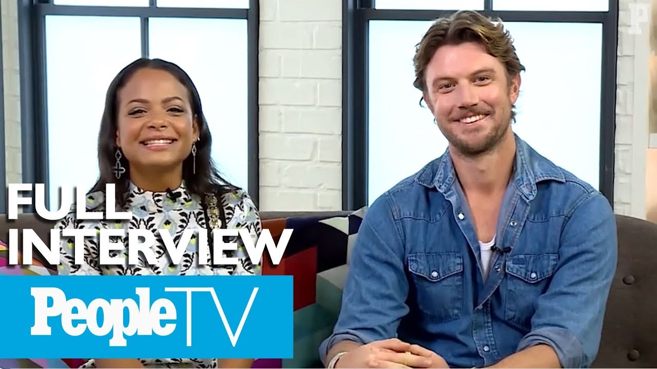 Download Christina Milian And Adam Demos On Their 'Impeccable Chemistry' In 'Falling Inn Love' | PeopleTV