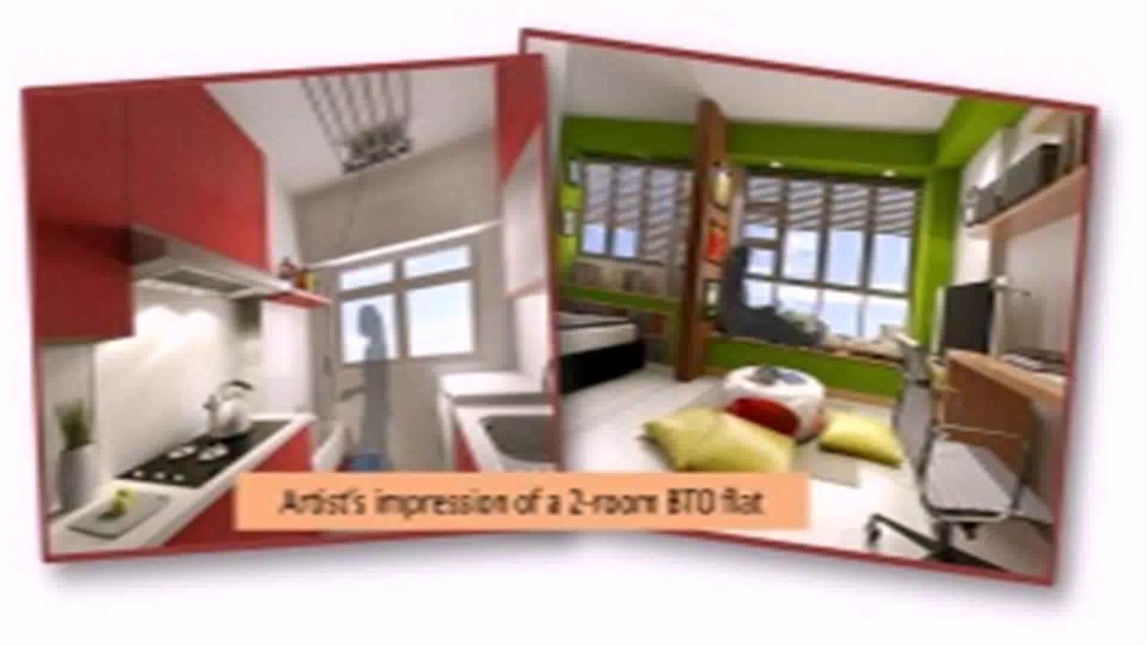 Floor Plan For 2 Room Hdb Flat