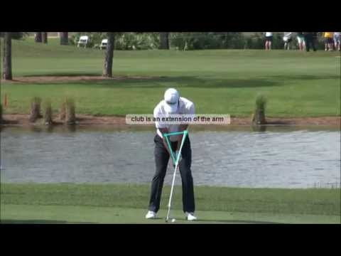 Adam Scott slow motion golf swing pitching review