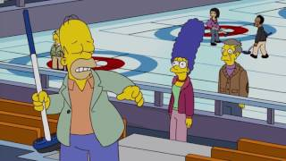 The Simpsons Let's Curl