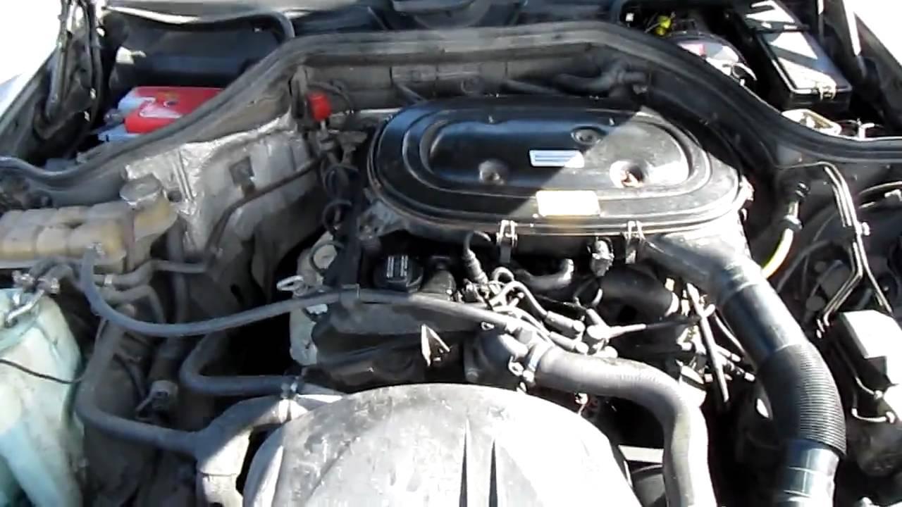 MercedesBenz 230e A 92 (w124) Engine (my excar)  YouTube