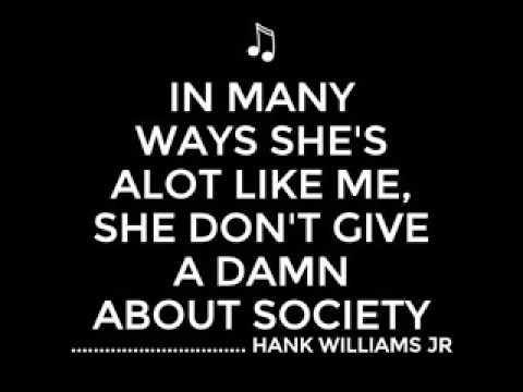 Hank Williams Jr   Outlaw Women Live Chicago 1980