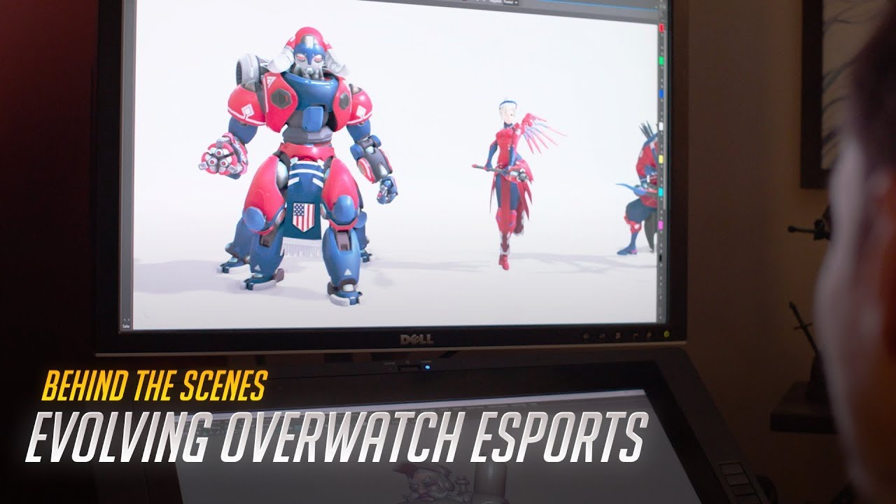 Blizzard shows off broadcast-friendly 'Overwatch' features