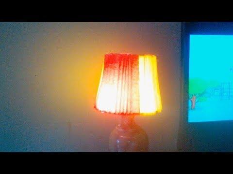 Bikin Lampu Hias Dari Paralon.