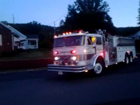 Hahn pumper tanker, Landingville, PA.