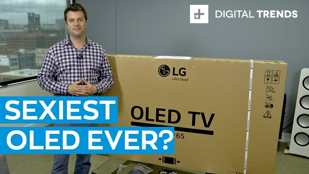 2019 Lg C9 Oled 4k Tv Hands On Unboxing And Setup